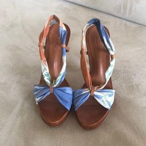 Aldo Platform sandals with floral pattern